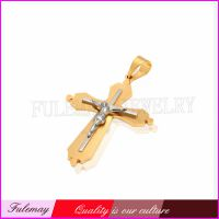 外贸流行饰品 信仰基督耶稣钉十字架吊坠 时尚经典专业生产 FC093