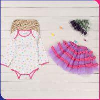 2016夏款童装韩版外贸女童纯棉一件代发儿童套装批发