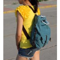 山东青岛加工定做尼龙双肩电脑背包 时尚运动行李包帆布包 大容量旅行包