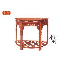 斗格半圆台定做红木家具图片、工艺家具市场、明清家具厂家直销