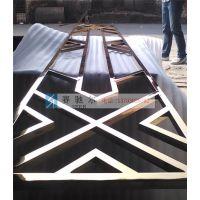 龙陵县不锈钢三款花格屏风展示