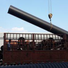 钢带增强波纹管环刚度达标 钢带管厂