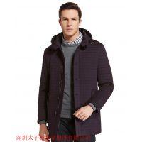 供应男式棉衣、棉衣定制、休闲服装、太子狼世家 厂家直销