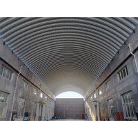 湖南省永州市东安县拱形屋面跨度33m金属屋面质量保证