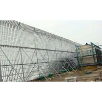 安平方海优质多规格百叶微孔金属板冷却塔隔音墙 声屏障