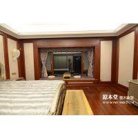 武汉原木堂原木护墙板让您省心,省力,更省钱-卧室护墙板