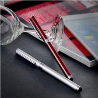 批发多色 苹果4 4S三星平板电脑双用手写笔 触屏笔 电容笔 便携笔