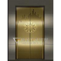 不锈钢电梯门板镜面蚀刻钛金 不锈钢电梯门板镜面腐蚀钛金 不锈钢电梯门套镜面钛金用料
