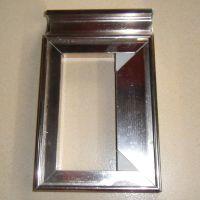 【广合】供应优质橱柜门铝型材 晶钢门铝材新款橱柜门 质量保证