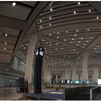 弧形铝方通吊顶厂家-特色造型铝天花吊顶-广州欧佰天花