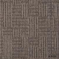 厂家批发青岛方块地毯|办公室|会议室|写字楼|商业大厦|大于汉城系列丙纶提花毯面沥青底方块地毯