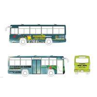供应长沙市113路公交车车身广告
