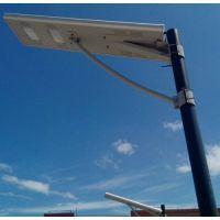 供应湖南锂电池太阳能路灯 鸿泰led太阳能投光灯厂家