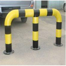 用于工厂、车间及仓库间设备与设施的防护与保护场合耐撞实用款市政U型马路京式护栏厂家优盾q235防撞栏