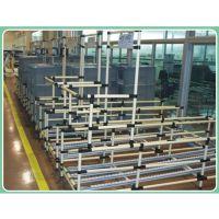 成都绵阳线棒仓储工具架,精益管物料配送器具、流利条货架