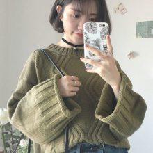 2016新款女装开衫毛衣 韩版加厚女式中长款针织衫 地摊货源毛衣女