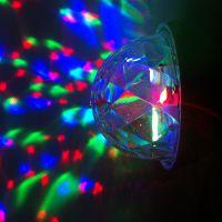 外贸迷你七彩球灯光 E27旋转舞台灯LED节能灯具彩色led灯泡 外销爆款