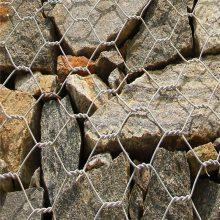 河北绿色石笼网价格 河北镀锌石笼网厂家 钢丝格宾网