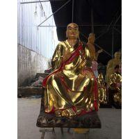 木雕十八罗汉 玻璃钢佛像定做 大型寺庙佛像承办商