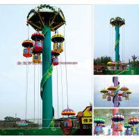 高空跳伞塔 大型游乐设备 中山金龙游乐