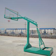 济南篮球架厂家 FY-006凹箱式篮球架一套多少钱