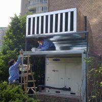 侨福外高桥置业中央空调降噪工程 专业噪声治理 噪音处理 隔声 消声 吸声 泛德声学 声学专家