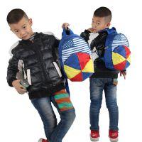 高质量儿童背包可爱幼儿园女宝宝书包 萌小女孩帽子双肩包帽子包