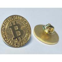 厂家专业定制金属徽章企业logo纪念章制作比特币纪念币定做质量保证