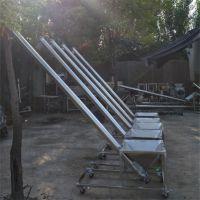 水泥灌包用螺旋提升机 厚管壁上料机