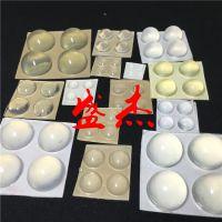 厂家生产直销透明胶垫 自粘防滑硅胶脚垫 圆柱形EPDM防撞垫