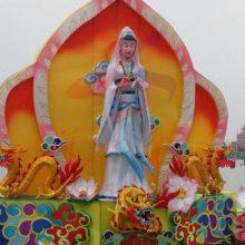 中秋国庆民俗花灯华亦彩生产厂家设计制作麒麟花灯大型创意鲤鱼跳龙门花灯