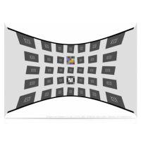sine image SFRplus 汽车影像预畸变测试卡