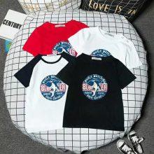 广州尾货1元2元服装 童装短袖T恤打底衫童T恤地摊十元模式送录音