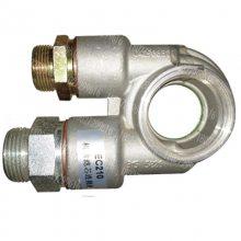 沃尔沃EC210B挖掘机机油滤芯连接管18027299616 沃尔沃210机油格连接管
