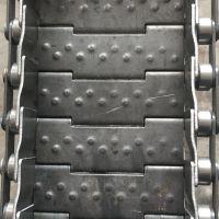 宁津卓远厂家加工定做排屑机链板 工业用链条传动链板输送带耐用