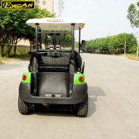 卓越新款2座綠色電動高爾夫球車廠家直銷定制款