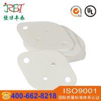 led高导热氧化铝陶瓷片 圆形晶体管耐磨陶瓷散热片 氧化铝瓷片加工