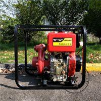 水利局使用3寸柴油机排水泵