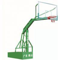 常宁埋地独柱篮球架20年专业生产