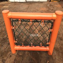 烟台足球场围栏网厂家供应拼装围网日字型球场护栏网