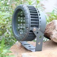 防水投光灯 户外亮化圆形聚光大功率投射灯