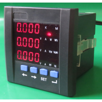 智能数显电流表 直流 交流 数字 继电器报警变送输出 电流电压表