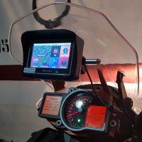 Wince 6.0 4.3 英寸防水GPS 摩托车专用外置便携式导航仪8G