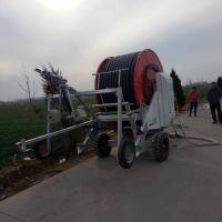 玉米地用什么设备浇水?霖丰喷灌溉设备大水量200米