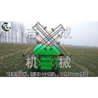 生产背负式喷杆打药机 喷雾机志成拖拉机配套悬挂喷雾器