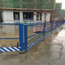 楼梯口防护网 可重复使用警示网 黄色临时护栏
