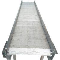 面粉输送机 卓远ZYSS207链条式不锈钢链板输送机 输送量大用途广