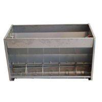 不锈钢猪用料槽 恒丰厂家直供猪用不锈钢料槽