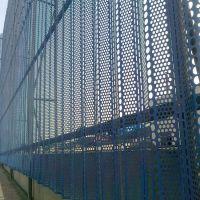 煤矿防尘网 挡风板护栏 蓝色8米挡风墙