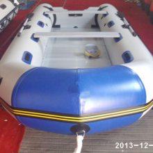 钓鱼游玩B备3-12人橡皮艇冲锋舟游艇铝合金底板 售后1